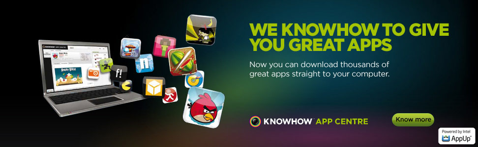 We knowhow to give you great apps