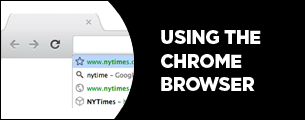 using the Chrome browser