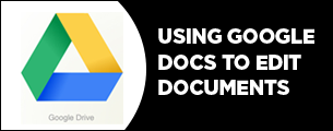 using google docs to edit
