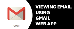 viewing emails using gmail